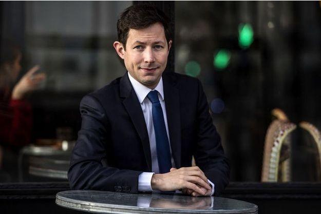 François-Xavier Bellamy, tête de liste de LR pour les européennes.