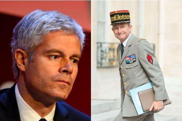 Laurent Wauquiez et le général Pierre de Villiers