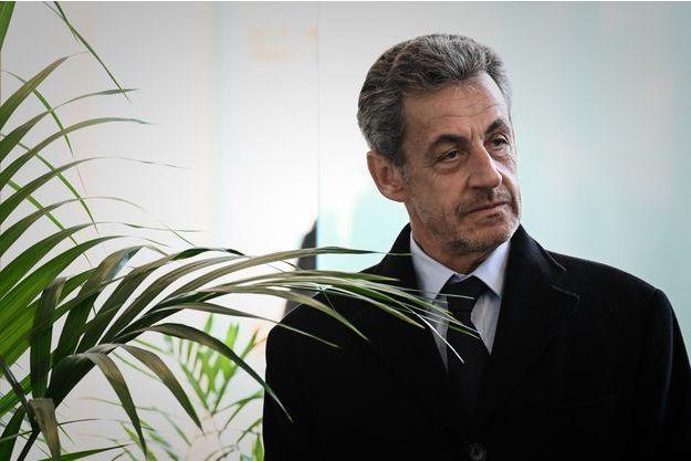 Nicolas Sarkozy à Roland-Garros, le 21 mars.