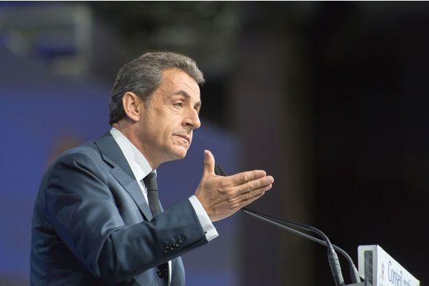 Nicolas Sarkozy le 14 février dernier.