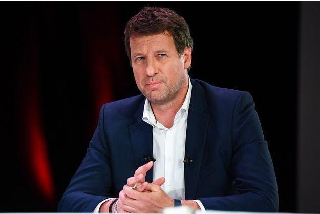 Yannick Jadot lors d'un débat à Paris, le 11 avril.