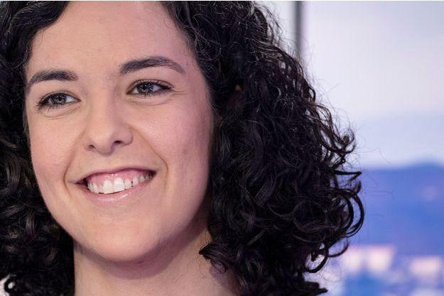 Manon Aubry, la tête de liste de La France insoumise aux Européennes.
