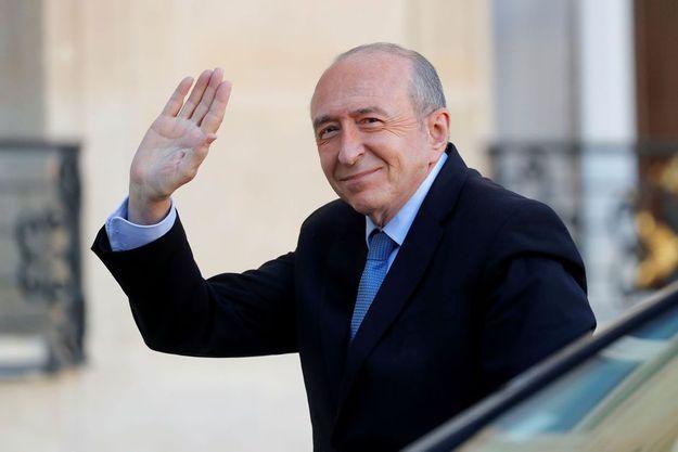 Gérard Collomb à l'Elysée le 22 novembre.