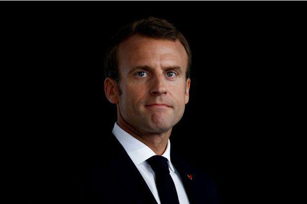 Emmanuel Macron, ici à Quimper en juin.
