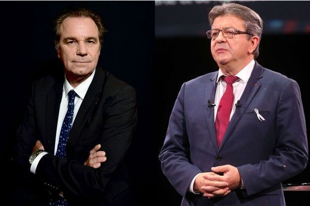 Renaud Muselier et Jean-Luc Mélenchon.