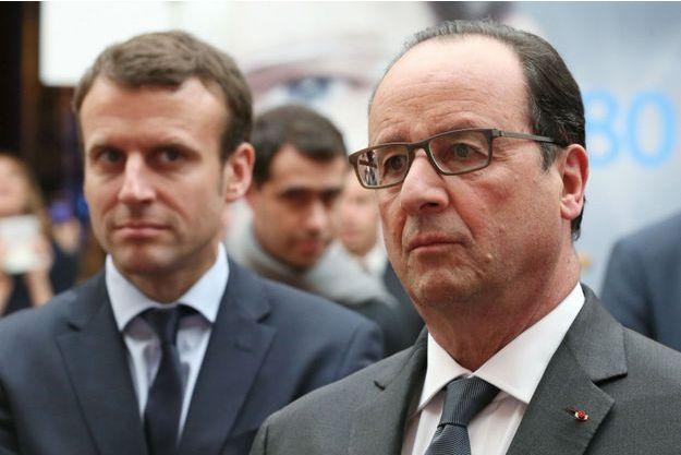 Emmanuel Macron devance François Hollande dans tous les cas de figure (photo d'illustration).