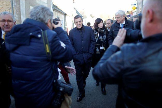 François Fillon à Chantenay-Villedieu dans la Sarthe, jeudi dernier.