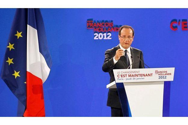 Dans la foulée du Bourget le 22 janvier, François Hollande présentait son programme le 26 à Paris. Une prestation également réussie.