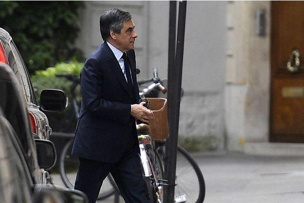 François Fillon à Paris en avril 2017