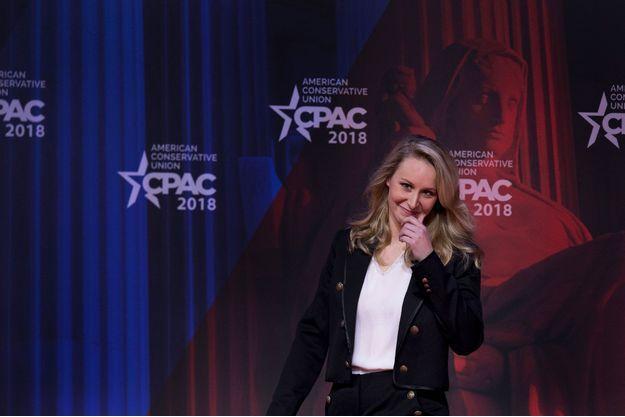 Marion Maréchal-Le Pen lors de la conférence CPAC dans le Maryland, le 22 février.