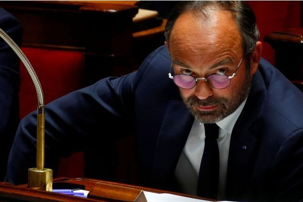 Edouard Philippe à l'Assemblée nationale, mardi.