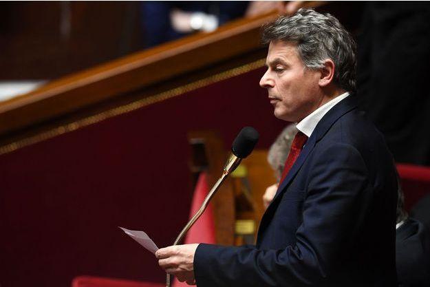 Le député communiste du Nord, Fabien Roussel, à l'Assemblée nationale, le 31 janvier.