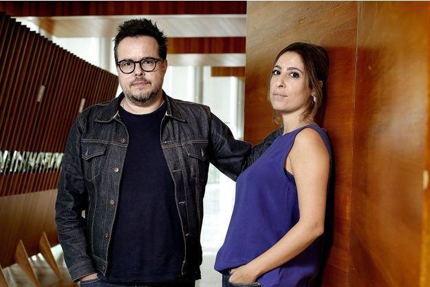 Nicolas Demorand et Léa Salamé en septembre 2017.