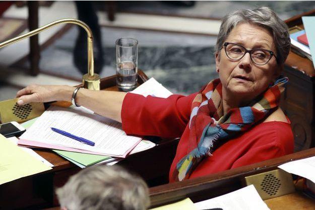 Catherine Coutelle à l'Assemblée nationale en décembre 2016.