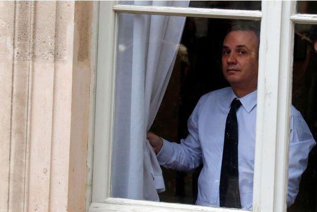 Bruno Roger-Petit, le porte-parole de la présidence, à l'Elysée en avril.