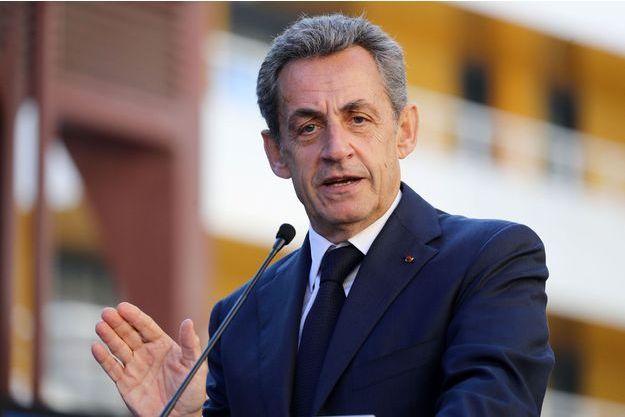 Nicolas Sarkozy à Nice en novembre dernier.