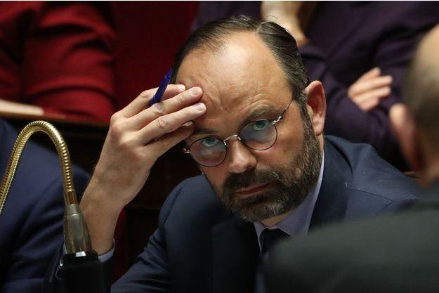 Edouard Philippe, mercredi à l'Assemblée nationale.
