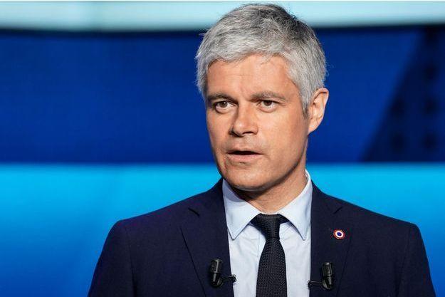 Laurent Wauquiez ici lors du débat sur France 2 mercredi.