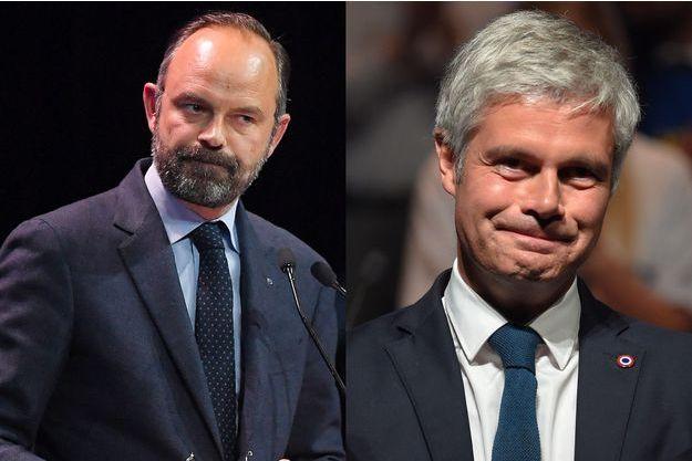 Edouard Philippe et Laurent Wauquiez.