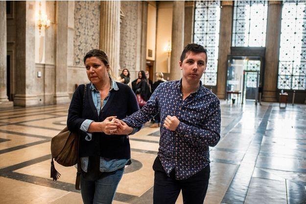 Marin, ici au tribunal en mai 2018.