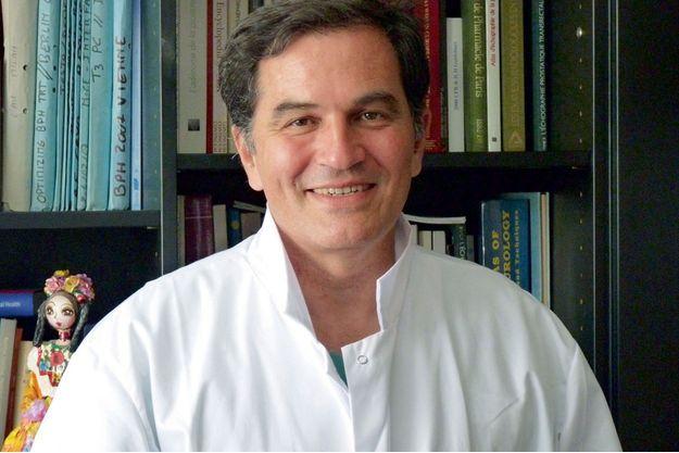 Le Pr François Desgrandchamps, chef du service d'urologie à l'hôpital Saint-Louis à Paris.