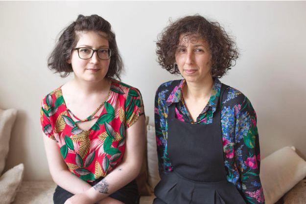 Maëlle Sigonneau et Mounia El Kotni.