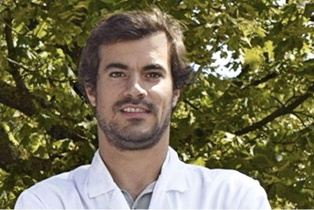 Le Dr Nicolas Guibert, pneumologue à l'hôpital Larrey de Toulouse.