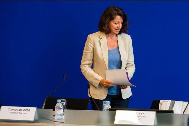 Agnès Buzyn à Paris le 14 juin.