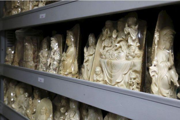 Babioles en ivoire.
