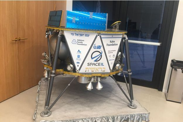 L'engin, baptisé Bereshit (Genèse en hébreu), est équipé pour mesurer le champ magnétique afin de récolter des données qui permettront de mieux comprendre la formation de la Lune et qui seront partagées avec la Nasa.