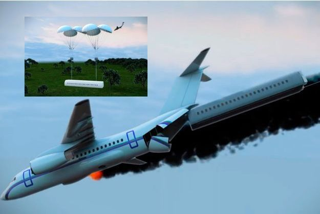 Vladimir Tatarenko, un ingénieur ukrainien, a inventé un avion doté d'une cabine amovible.