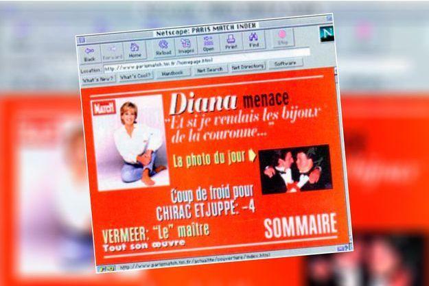 Paris Match Web