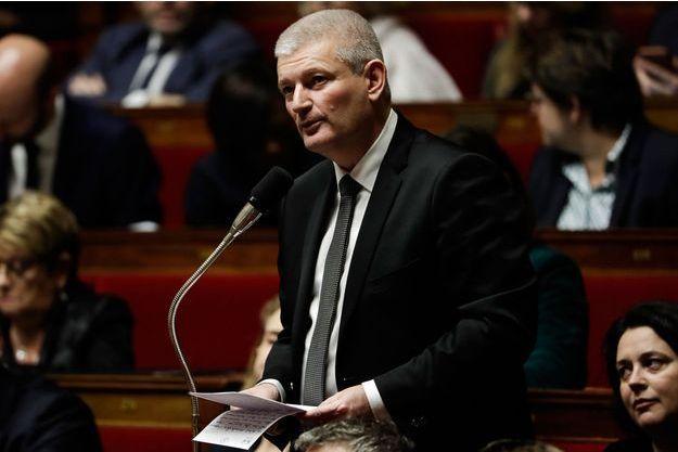 Le député Olivier Falorni, ici à l'Assemblée nationale en décembre 2018.
