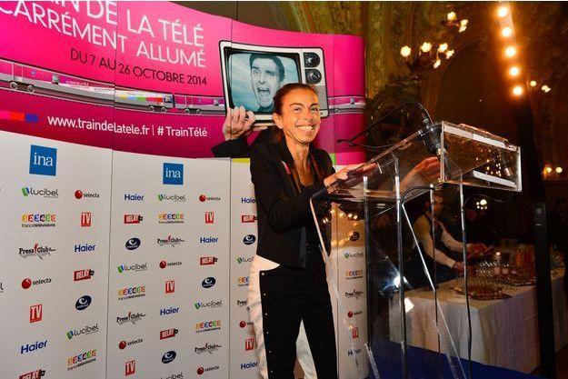 Agnès Saal en octobre 2014.