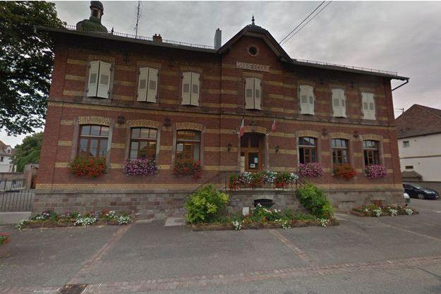 La mairie-école d'Ebersmunster, dans le Bas-Rhin. (photo d'illustration)
