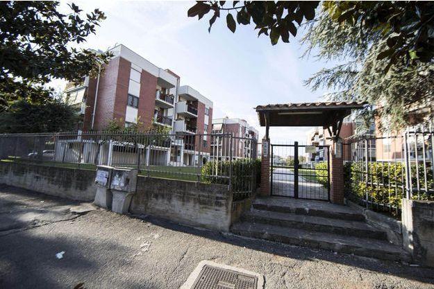 La maison dans laquelle a vécu Ahmed Hanachi.