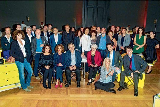 Augustin Trapenard, Bernard Pivot, Audrey Azoulay, Delphine de Vigan, Dan Franck, Nathalie Rykiel et Daniel Pennac, entre autres personnalités, ont participé au dîner caritatif de l'association.