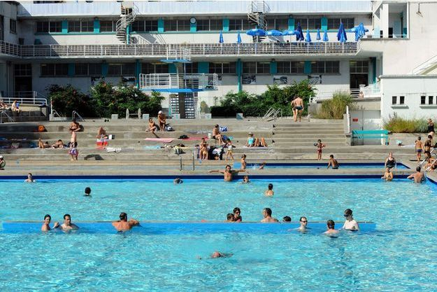Une piscine à Grenoble.