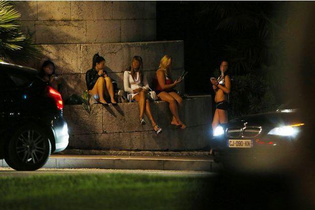 Des prostitués à Nice.