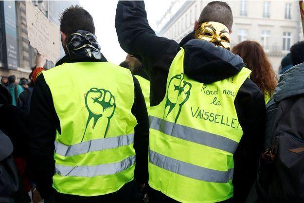 Des gilets jaunes ici à Paris le 5 février (image d'illustration)