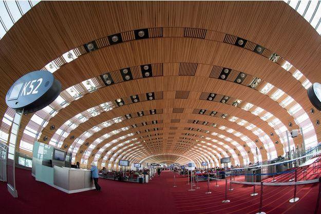Le terminal 2E de Roissy en août 2018.