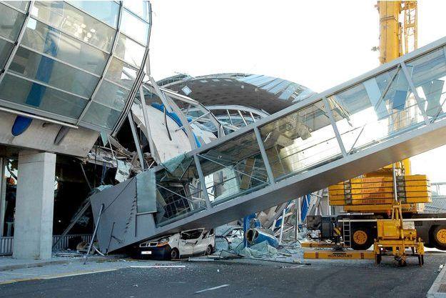 L'effondrement du terminal 2E de Roissy avait fait quatre morts et sept blessés.