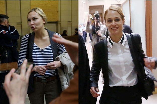 Iana Jdanova et Eloïse Bouton.