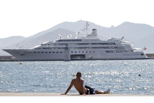 Le Lady Moura, l'un des yachts les plus chers du monde.