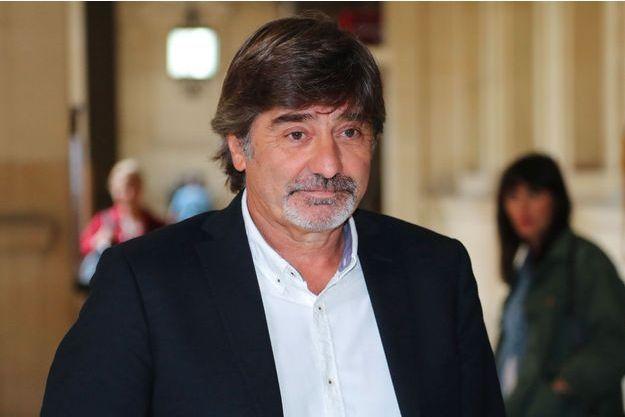 Michel Neyret en juin dernier à la cour d'appel de Paris.