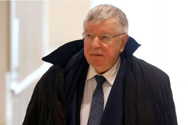 L'ancien PDG de France Télécom Didier Lombard au tribunal à Paris, le 6 mai.