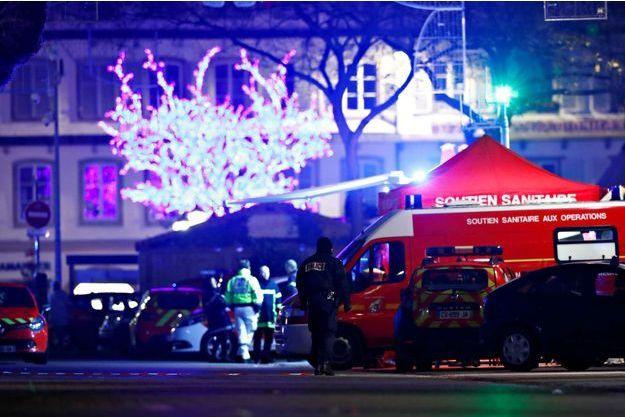 L'attaque à Strasbourg a fait au moins trois morts.