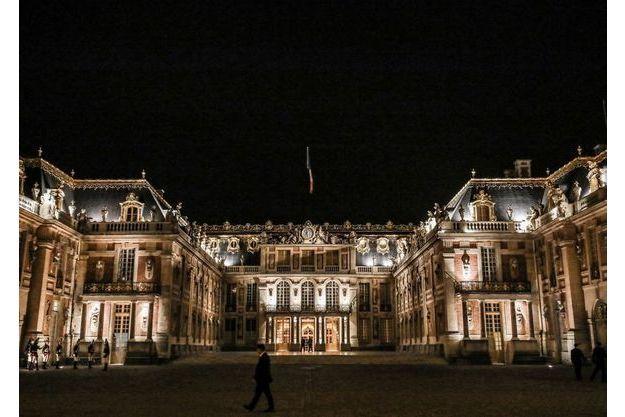 La cour royale du château de Versailles en septembre 2018.