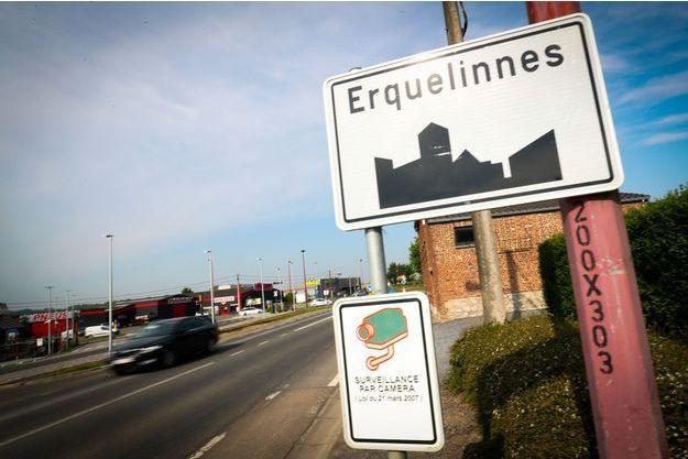 A l'entrée de la commune belge d'Erquelinnes. (photo d'illustration)