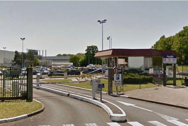 L'usine LU à La Haye-Fouassière, près de Nantes.